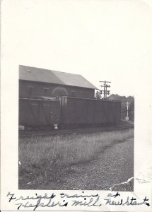 Freight Train at Hepler's Mill
