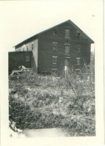 Circa 1940s view of Stanton Mill