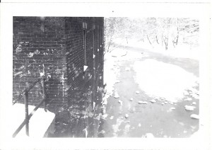 Ice Floes on Sewickley Creek, 1940s